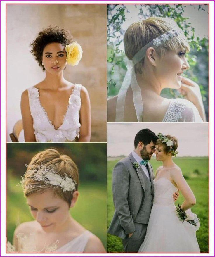 20 Kurze Pixie-Hochzeitsfrisuren, lassen Sie sich nicht von der Länge täuschen, kurze Frisuren wie Pixie-Frisuren können auch Hochzeitsfrisuren sein. Der kurze Elf ...