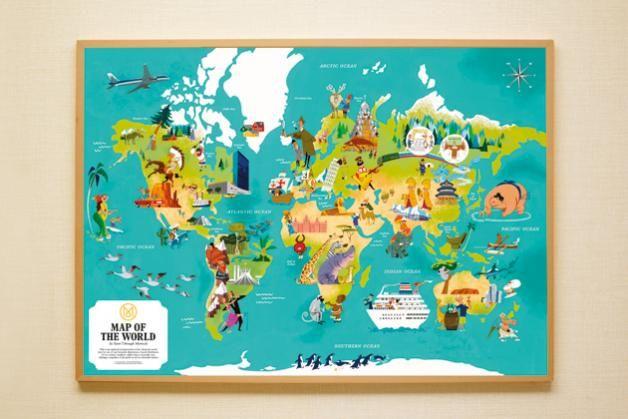 Second Edition: World Map Print