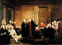 Second Continental Congress - It was a meeting with all 13 colonies. They wanted to have more truths than war.