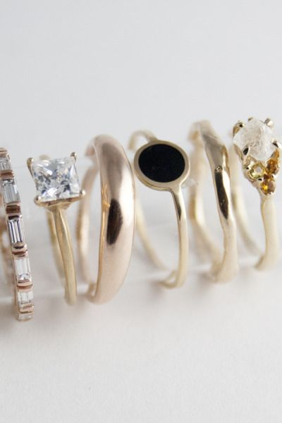 Bario-Neal Jewelry: Bling, Fashion, Style, Wedding, Bario Neal Jewelry, Gold Rings, Things, Dainty Ring