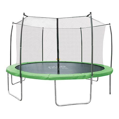Image of Pure Fun Dura-Bounce 14ft. Trampoline & Enclosure