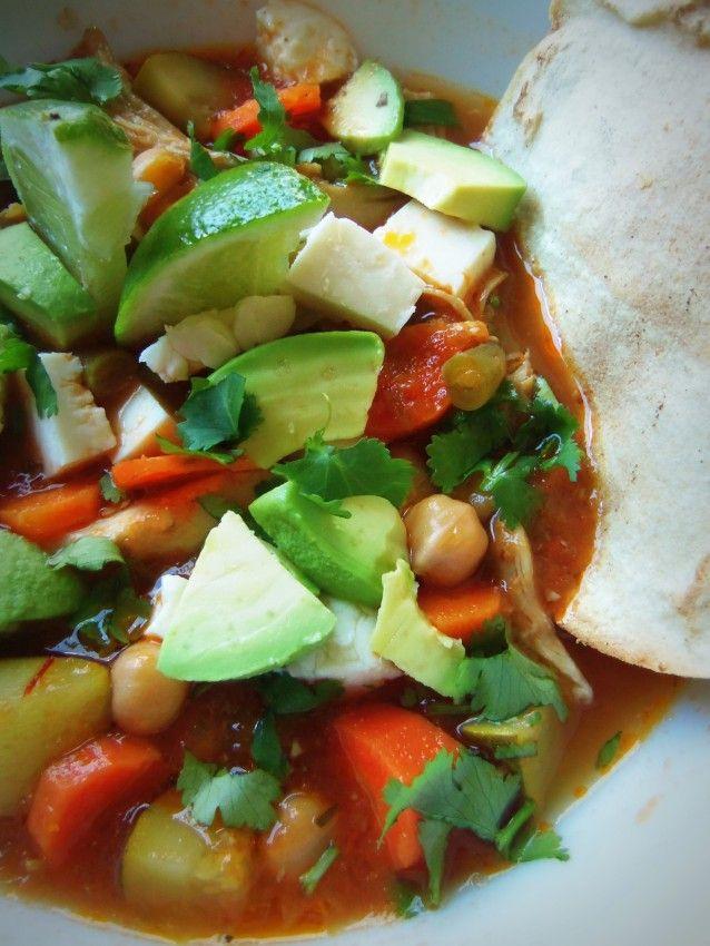Caldo Tlalpeño|Hispanic Kitchen