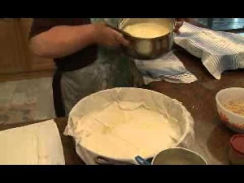 Elizabeth's Greek Kitchen Cooking Class - Galaktobouriko - Greek Vanilla...