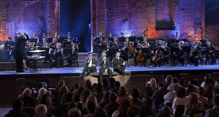 Powerhouse Italian Pop Opera Trio Il Volo Records Live Monumental Concert… | boom on line