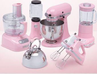 Baby Pink Kitchenaid Mixer