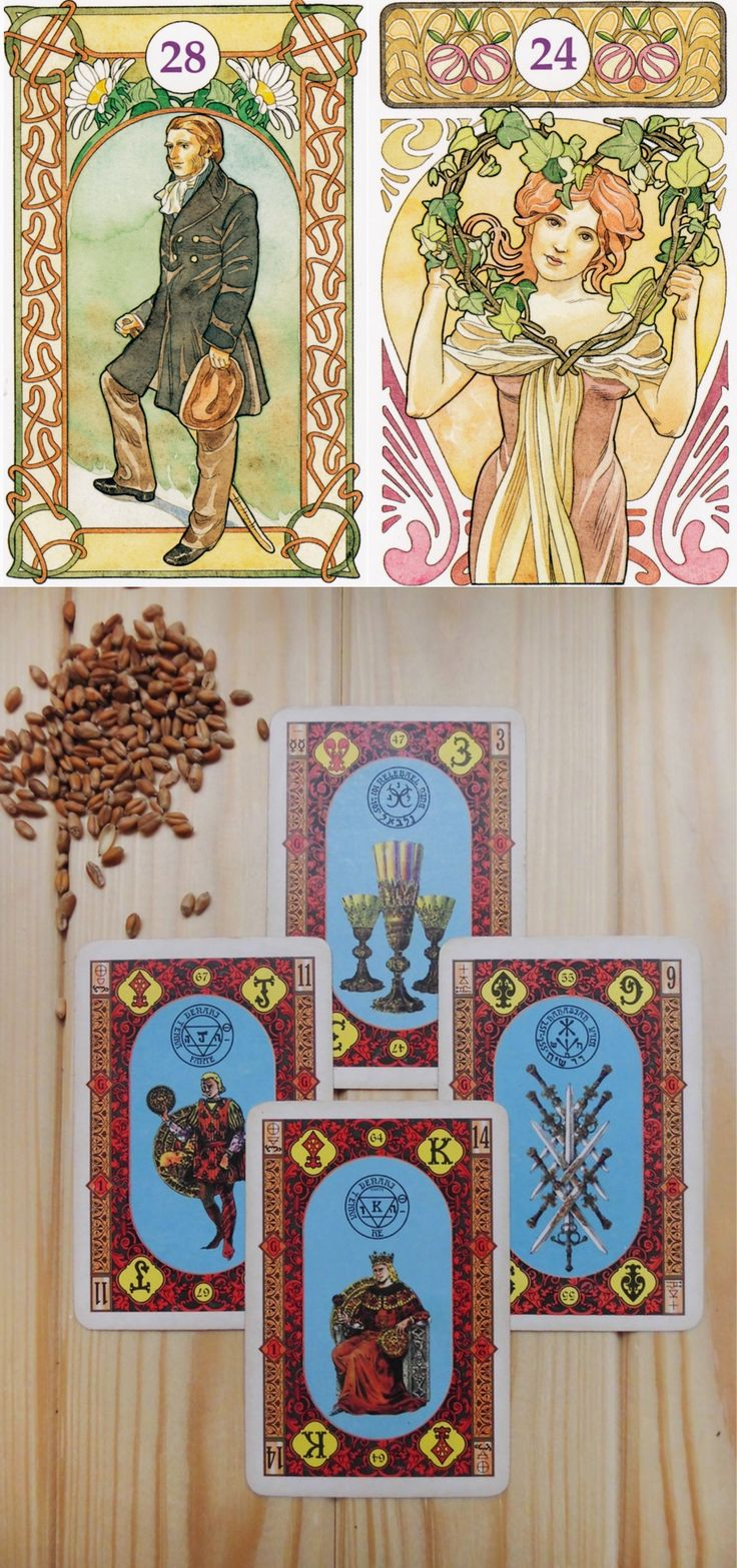 986 Best Lenormand Cards, Decks Images On Pinterest