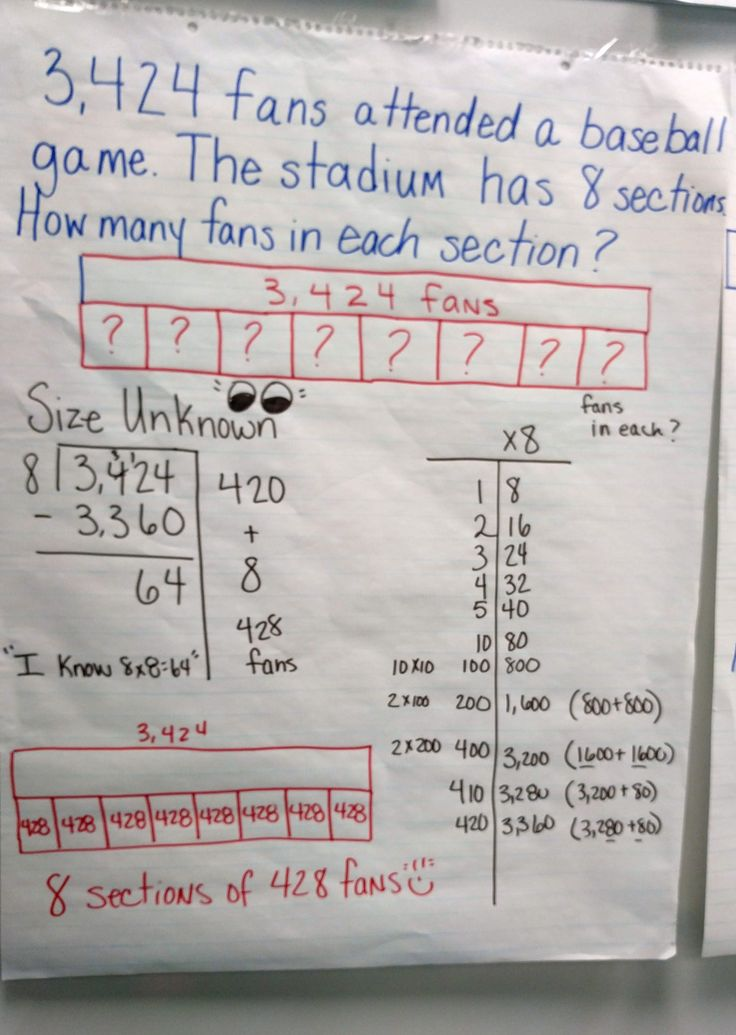 Looking for a way to teach division besides long division? try using bar models or partial quotients. https://youtu.be/svI9EJoBPF0