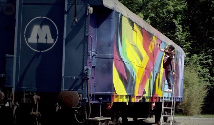 MadC et le train MOLOTOW