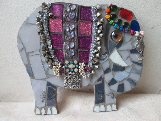 mosaic Elephant £15.00