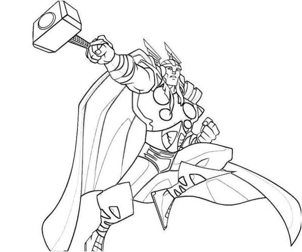 Free Thor Coloring Pages Collection Superhero Coloring Pages Marvel Coloring Avengers Coloring Pages