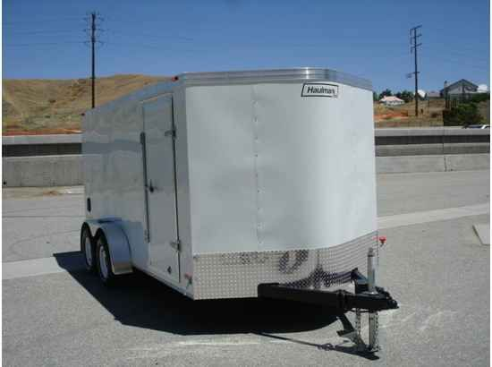 "2016 New Haulmark PPT6X12DT2 Toy Hauler in California CA.Recreational Vehicle, rv, 2014 HAULMARK PPT6X12DT2, THIS TRAILER HAS A DUAL SPRING ASSISTED RAMP DOOR, 32"" SIDE DOOR WITH BARLOCK, ALL WHEEL ELECTRIC BRAKES W/EMERGENCY BREAKAWAY, ALL STEEL FRAME CONSTRUCTION, 2000LBS TOPWIND JACK WITH SAND PAD, G.V.W.R.7000LBS, .024 POWDERCOATED ALUMINUM EXTERIOR, ALUMINUM ROOF, 3/8"" PLYWOOD SIDE WALLS, 3/4"" PLYWOOD FLOORING, ALL DOT LIGHTING, 12VOLT DOME LIGHT . THIS TRAILER IS A STEAL AT THIS PRICE…"