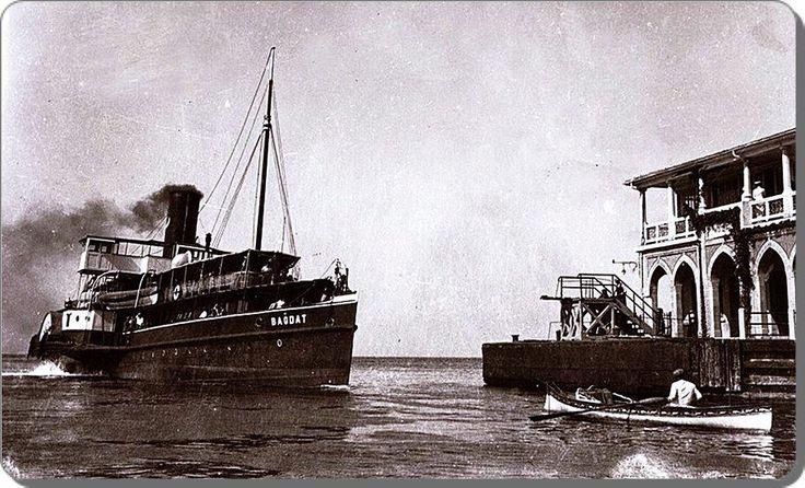 Bağdat vapuru Moda iskelesinde