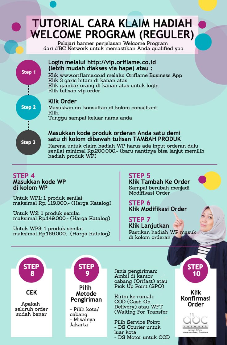 Tutorial Cara Klaim Welcome Program Oriflame by Nadia Meutia