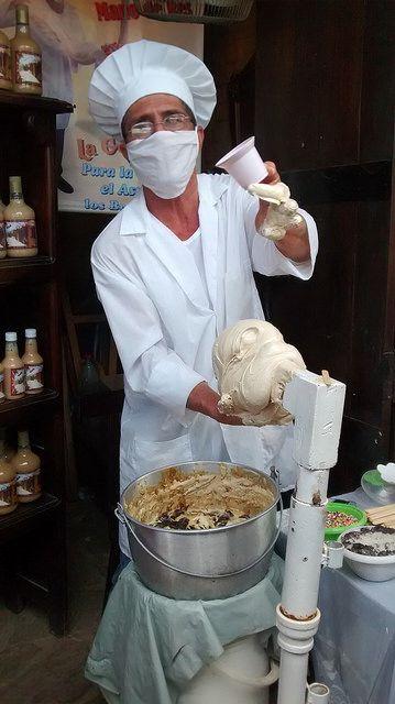 Vendedor de Gelatina de pata, La Mesa de los Santos. | Flickr - Photo Sharing!