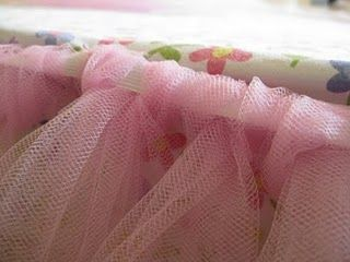 Tutu bed skirt tutorial. My daughter would love this and I love that it is so inexpensive!