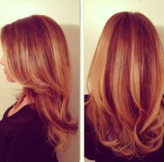 стрижка на средние волосы каскадом фото