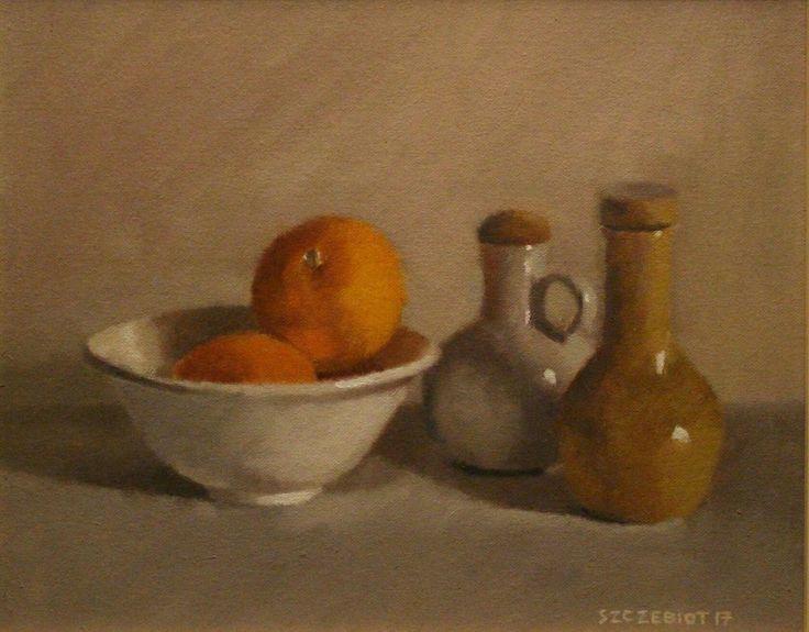 'Bowl of Oranges' - By Steven Szczebiot