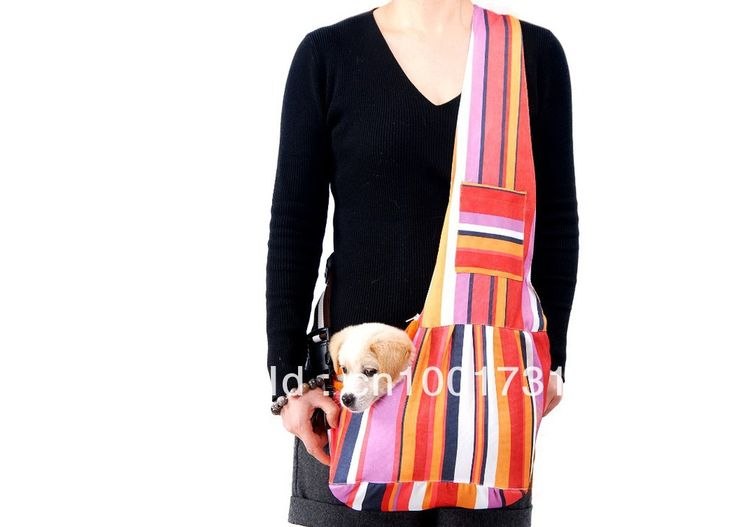 New Colorful Pet Sling Carrier Dog Cat Carrier dog carrier Free Shipping Wholesale $1 984,92