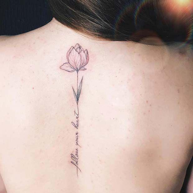 23 Cool Back Tattoos Ideas For Women Back Tattoo Women Flower