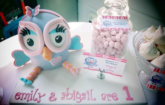 Mummy's Little Dreams: Hoot the Owl Birthday Theme
