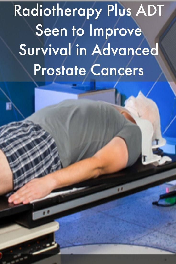 Radiotherapy Plus ADT Seen to Improve Survival in Advanced Prostate Cancers #ProstateCancerNews