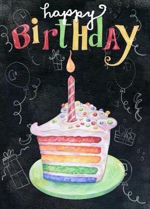 Happy birthday. More