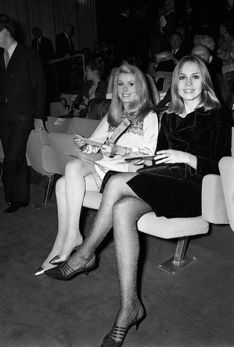 Catherine Deneuve and Françoise Dorléac