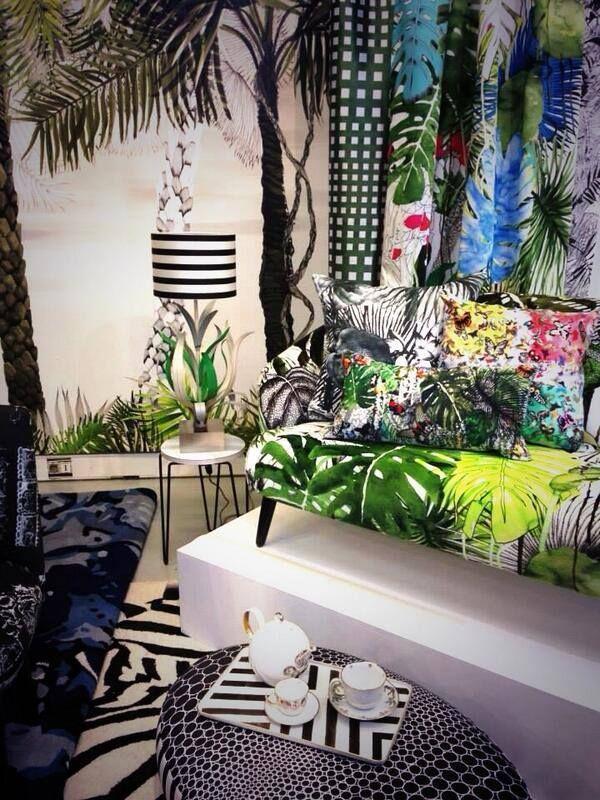 Stark christian lacroix http www designersguild com petits jardins tendancepapier peint en tissupapier peint botaniquemaison