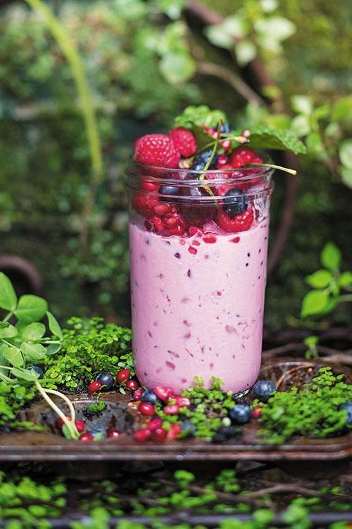 Yummy cherry smoothie! www.rooirose.co.za