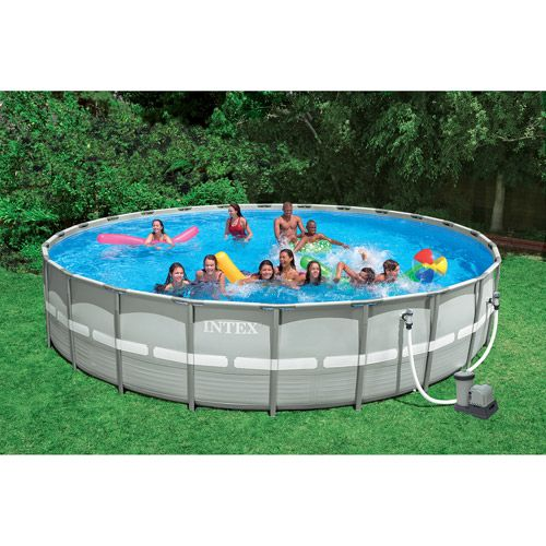 Intex 26 39 X 52 Ultra Frame Swimming Pool Swimming Metals And Swimming Pools