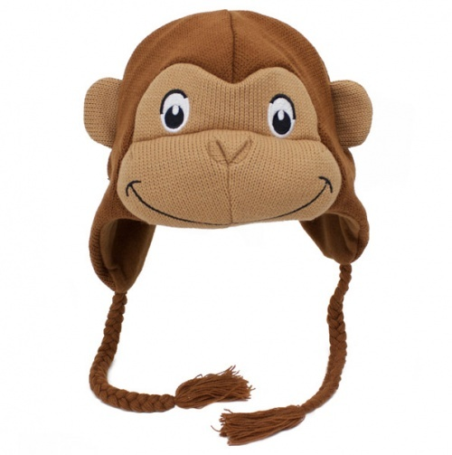 Curious George hat for my niece!