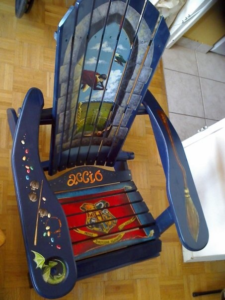 Harry Potter Themed Muskoka chair