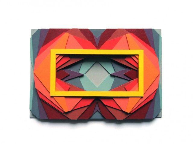 Multicolored Layered – Fubiz™: Colour Patterns, 3Dpaperart6Jpg 960646, Http Maudvantour Com, Art Design, Paper Art, Graphics Design, Maud Vantourss, Paper Sculpture, Multicolored Layered