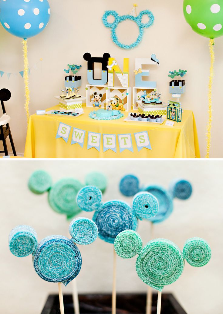 Creative Mickey Mouse 1st Birthday Party Ideas {+ Free Party Printables}