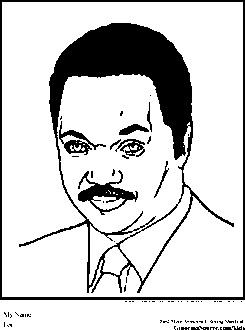black history color pages - jesse jackson coloring pages black history month