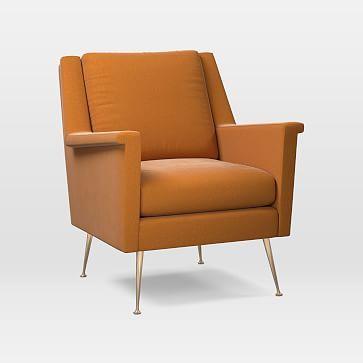 Wondrous Carlo Mid Century Chair Poly Tribeca Velvet Cardamom Brass Pdpeps Interior Chair Design Pdpepsorg