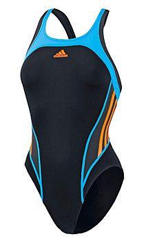 ADIDAS Schwimmanzug Damen schwarz/türkis im Online Shop von SportScheck kaufen