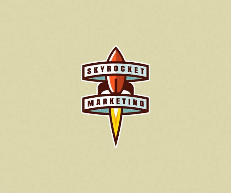 skyrocket marketing by blazej jaraczewski  via creattica