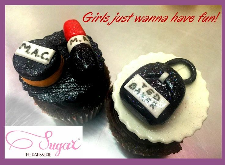 Pamper your princess with makeup, bags AND jewellery! Call Sugar the Patisserie at 022-26614708 or email us on sugarthepatisserie@gmail.com to place your custom cupcake orders today! #sugarthepatisserie #customcupcakes #dessert #speciallymade #customorder #girlfriendgoals