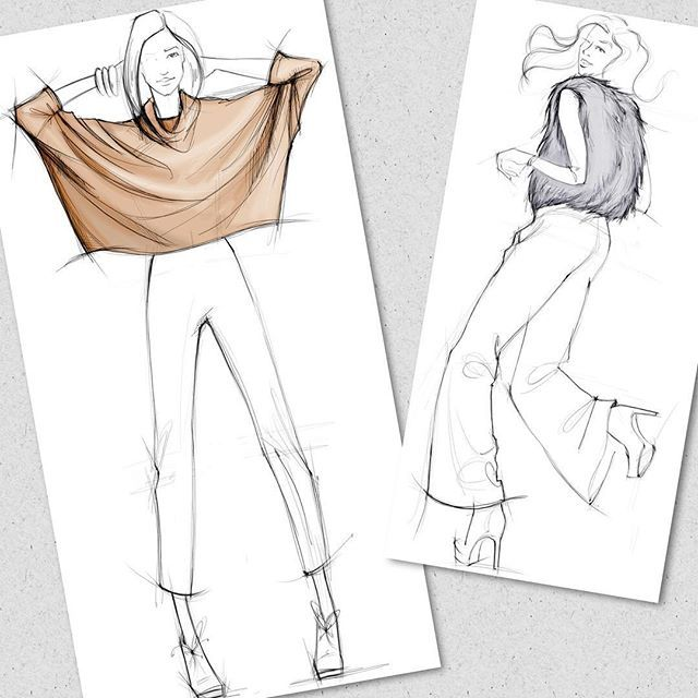 Easy Fashion Designing Drawings Images Galleries With A Bite