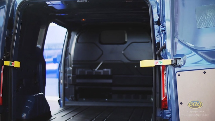 The new Ford Transit Custom has a large loading space with easy access making your day even easier.