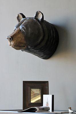 Vernon The Beautiful Brown Bear Head