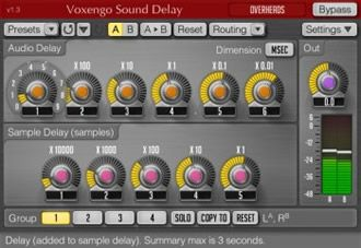 Voxengo Sound Delay (64 bit) - delay vst plugin
