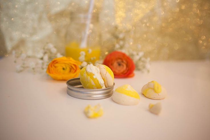 Mini pavlova au lemon curd | Sunday Time