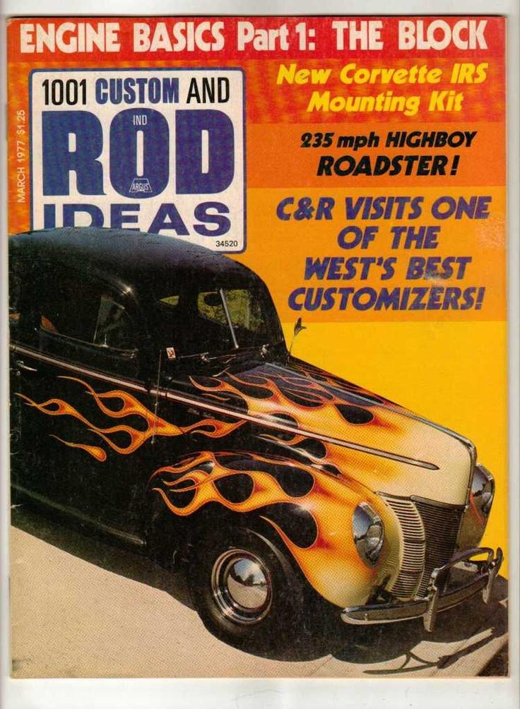 80 best Vintage Custom Car Magazines images on Pinterest   Hot rod ...