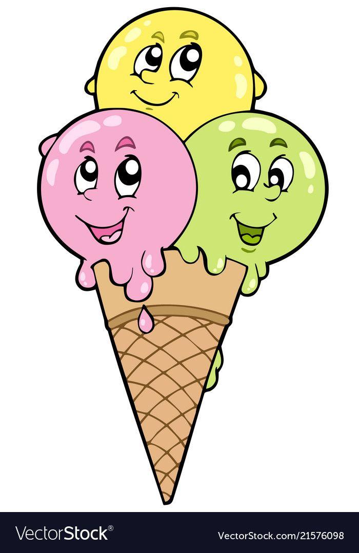 Эмблема для фестиваля мороженого рисунок