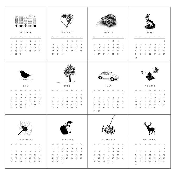 calendar 2017 monthly