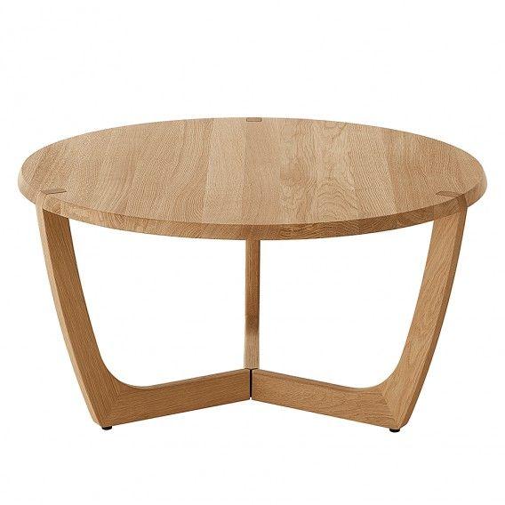 Table Loca Ii Wild Oak Partial Massive Wild Oak White Couchtisch Loca