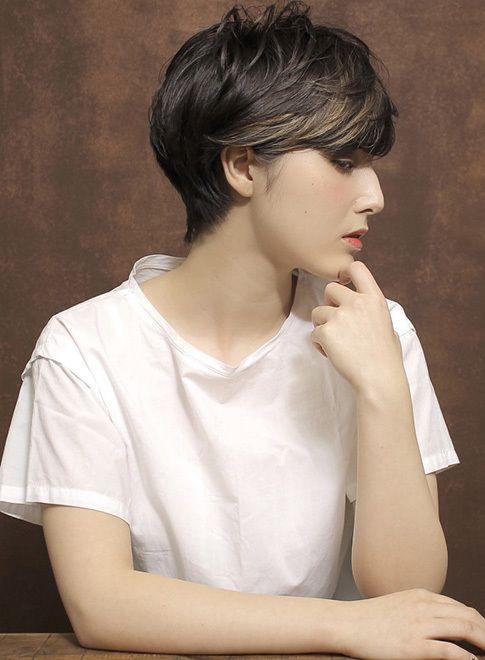 外国人大人ショート 【CYANDELUCCA】 http://beautynavi.woman.excite.co.jp/salon/31363?pint