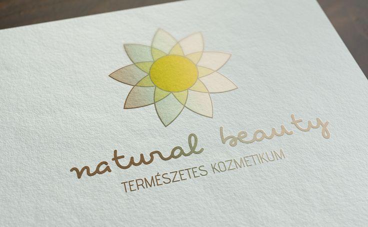 Natúr Szépség logó:  Egy természetes kozmetikumokat gyártó vállalkozásnak készített munka